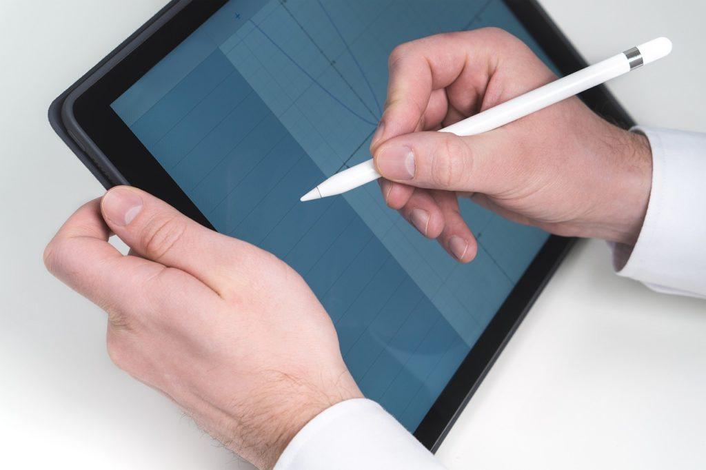 iPadProで使用するアプリを決めるイメージ画像