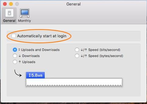 Bandwidth +の設定画面