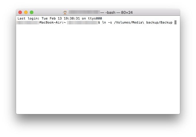 iPhoneのバックアップデータの保存先を外付けHDDへ変更する手順_3
