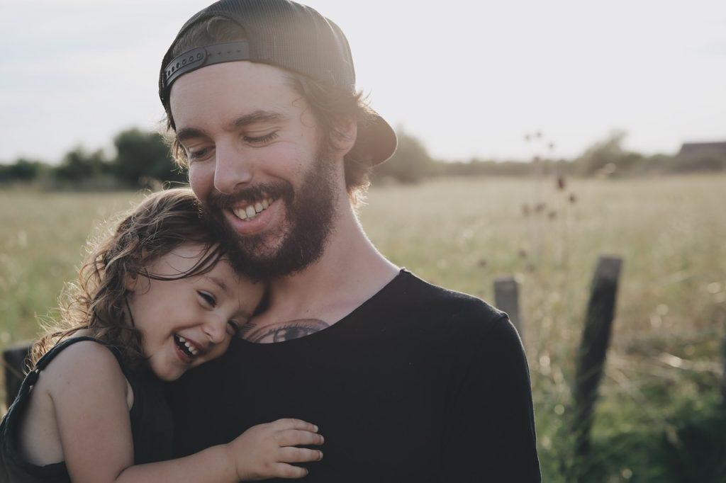 子供と接する時の表情
