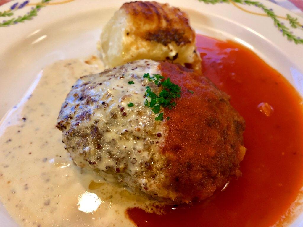 キャセロール特製ハンバーグステーキ