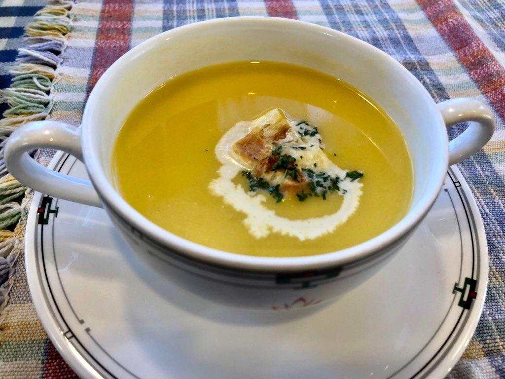 キャセロールのコーンスープ
