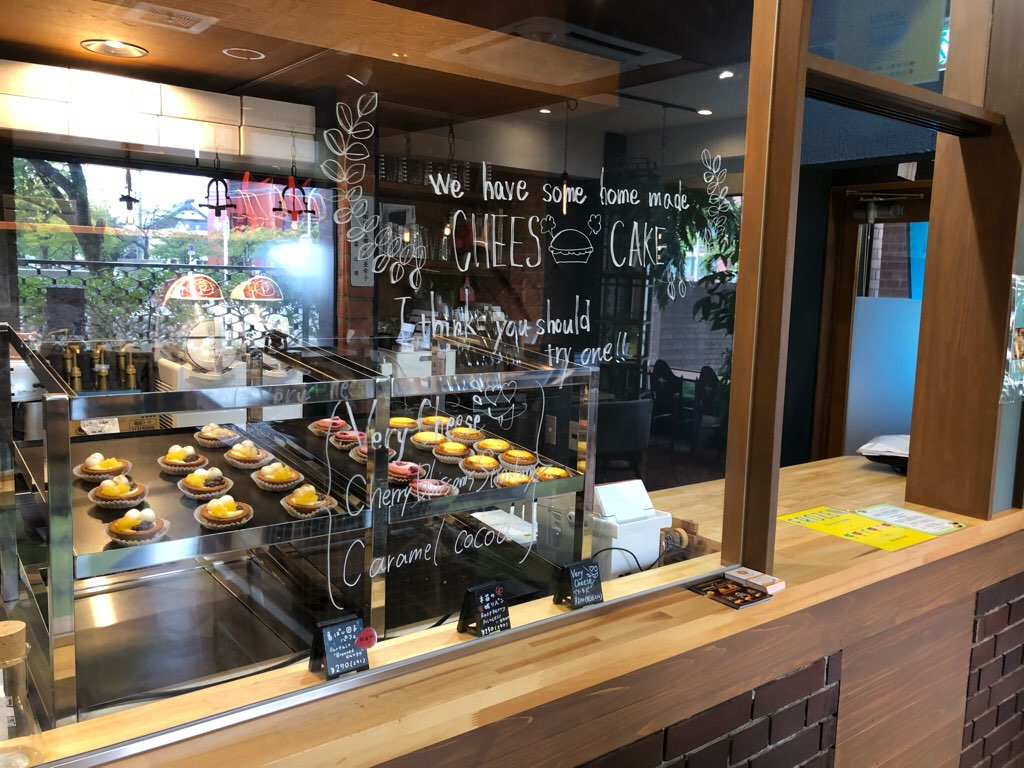 『ヤドカリチーズケーキ』のブース写真