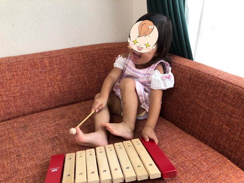 トイサブ!の知育玩具からお気に入りを見つけた長女2