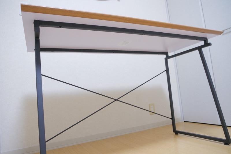 ワークデスク SMART【BE-1201】-天板の下側写真