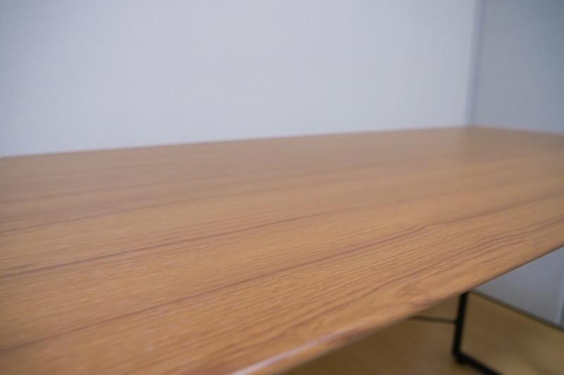 ワークデスク SMART【BE-1201】-オーク材の繊維天板