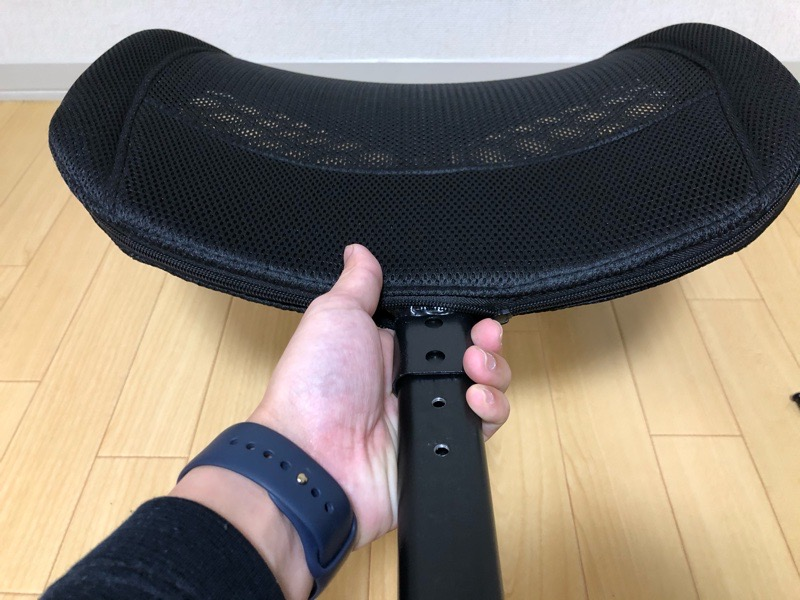 【DAISYO C-040】の背面プレート取付
