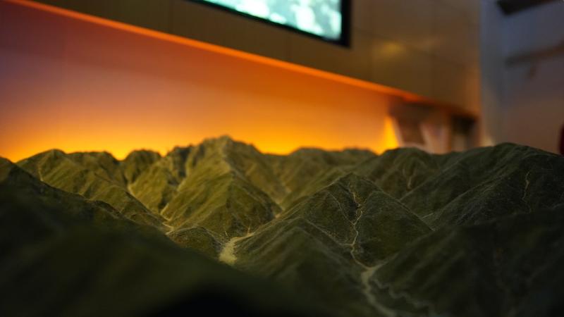 立山の模型はクオリティーが高い